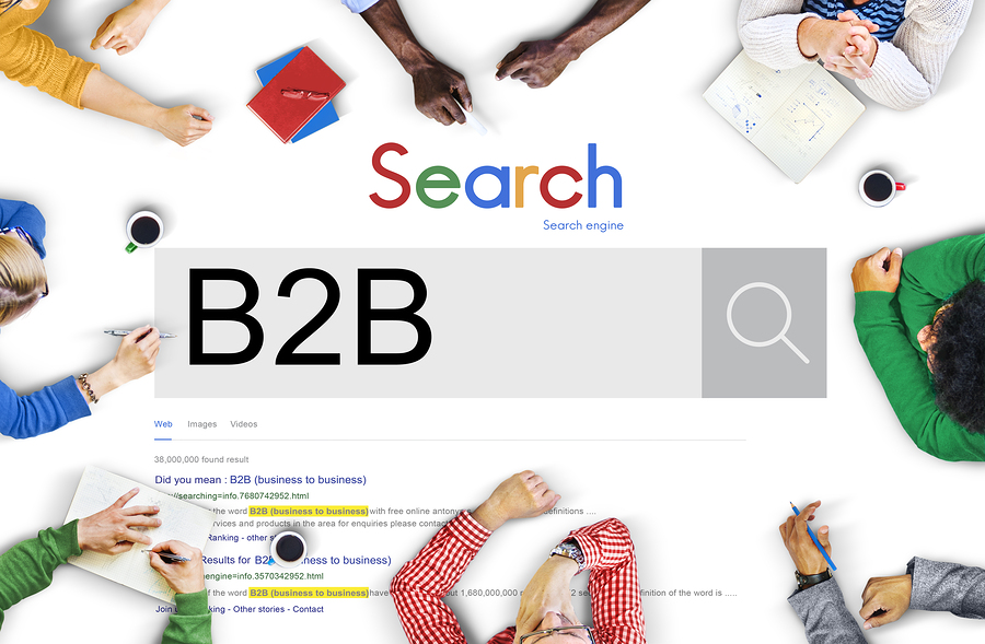 Promoting B2B business online