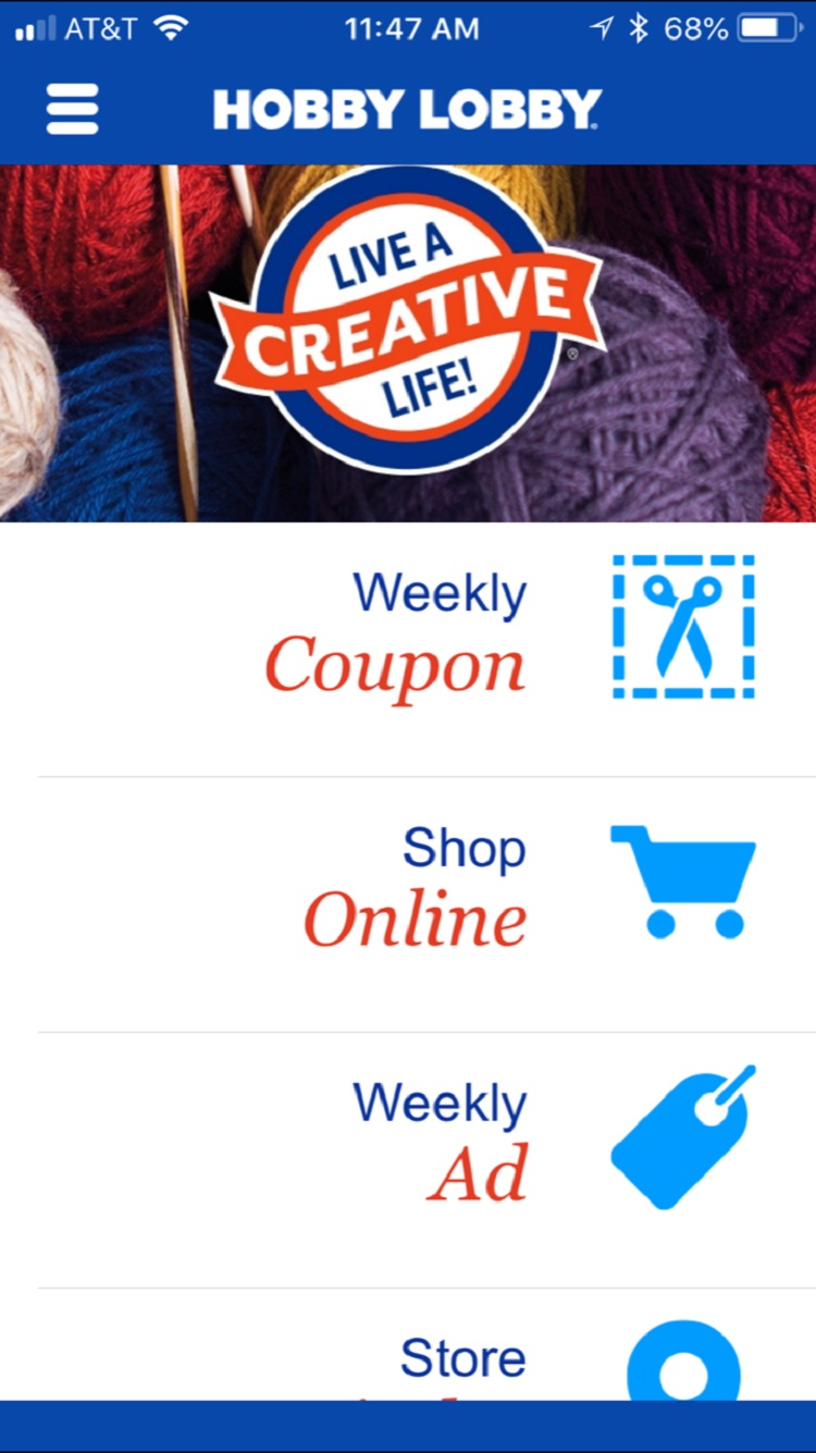 hobby lobby app assists customers with accessing coupons easily