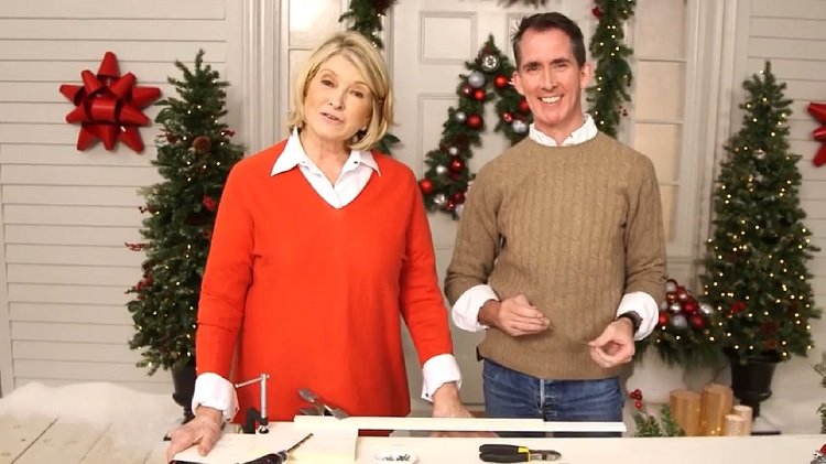 martha stewart live streams holiday preperation videos