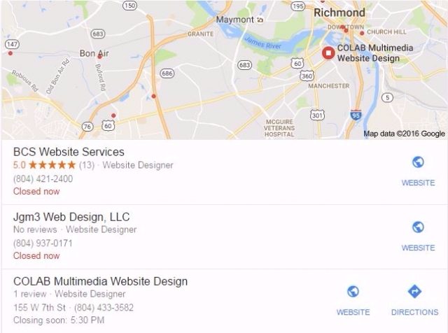 Google Map Listing >> Marketing Your Website Map Listings For Your Business