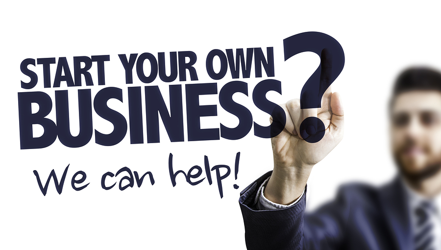 start your own business help
